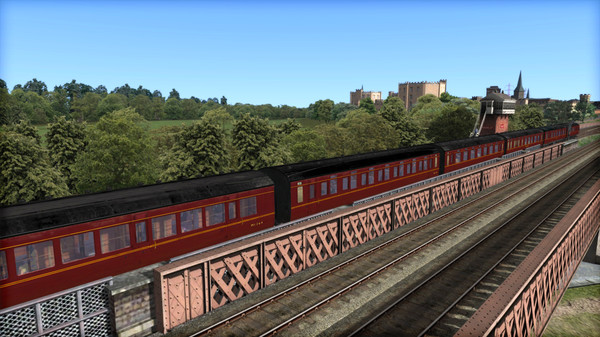 скриншот TS Marketplace: LMS P1&P2 BR Maroon Coach Pack Add-On 4