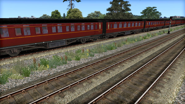 скриншот TS Marketplace: LMS P1&P2 BR Maroon Coach Pack Add-On 5