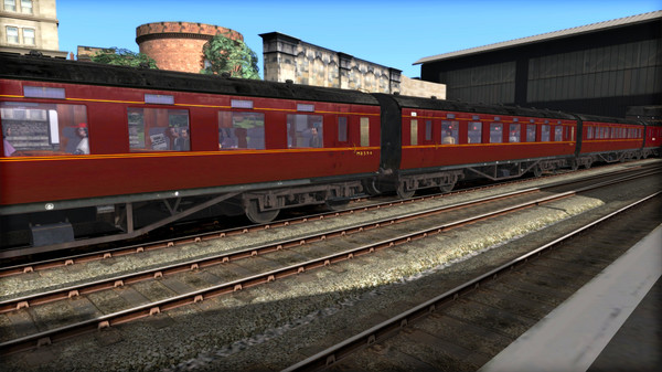 скриншот TS Marketplace: LMS P1&P2 BR Maroon Coach Pack Add-On 3