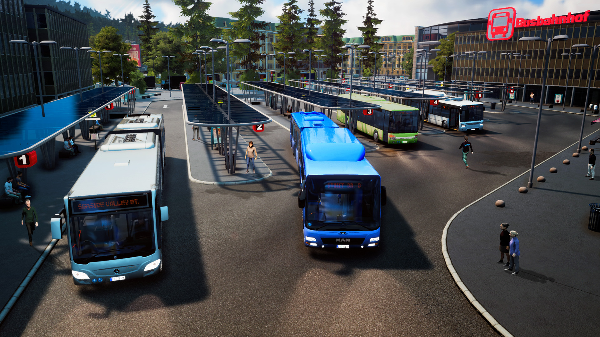 Bus Simulator 18 (astragon Entertainment GmbH) (RUS|ENG|MULTi12) [Steam-Rip] vano_next