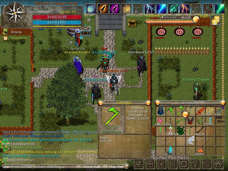 Orake 2D MMORPG on Steam