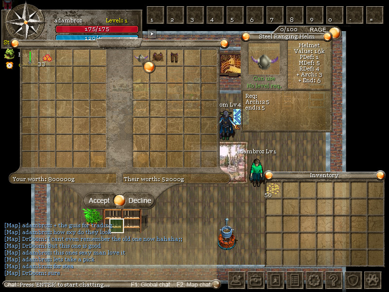 Orake 2D MMORPG en Steam