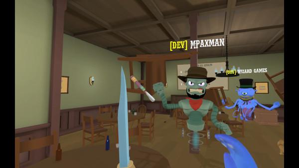 Screenshot of Cowbots and Aliens