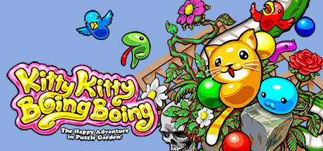 Kitty Kitty Boing Boing: the Happy Adventure in Puzzle Garden!
