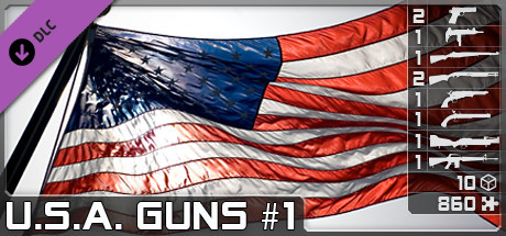 World of Guns: U.S.A. Guns Pack #1