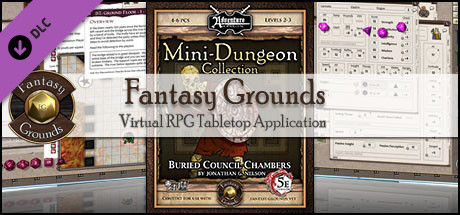 Fantasy Grounds - 5E: Mini-Dungeon #001 - Buried Council Chambers