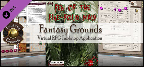 Fantasy Grounds - Fen of the Five-Fold Maw (PFRPG)