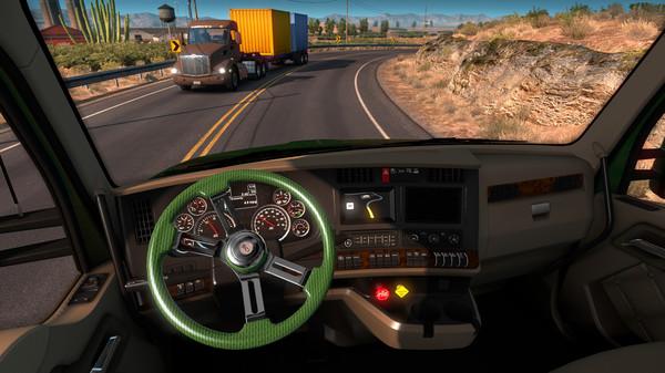 скриншот American Truck Simulator - Steering Creations Pack 4