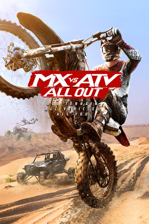 MX vs ATV All Out poster image on Steam Backlog