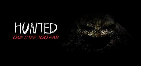 Hunted: One Step too Far cover art