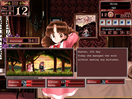 Screenshot of Princess Maker 2 Refine