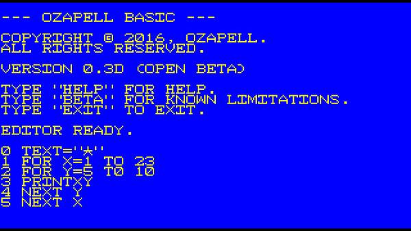 Скриншот из Ozapell Basic