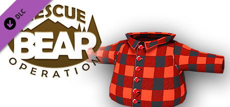 Rescue Bear Operation - Red Plaid Shirt