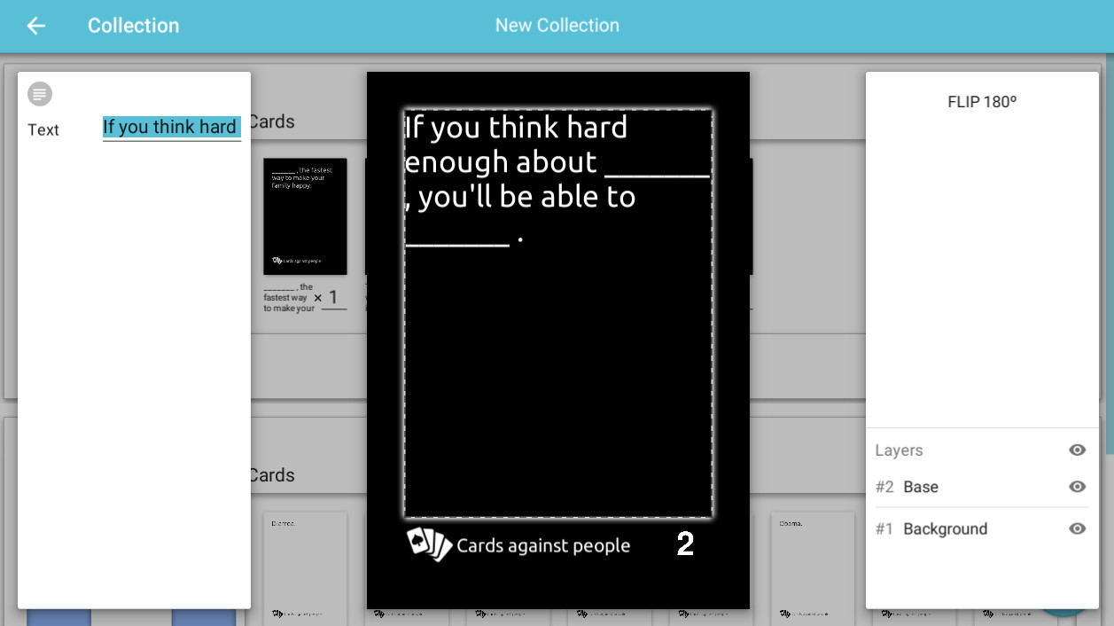 Card Creator On Steam - Board game design software
