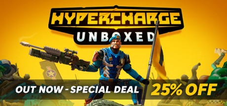 HYPERCHARGE Unboxed Capa