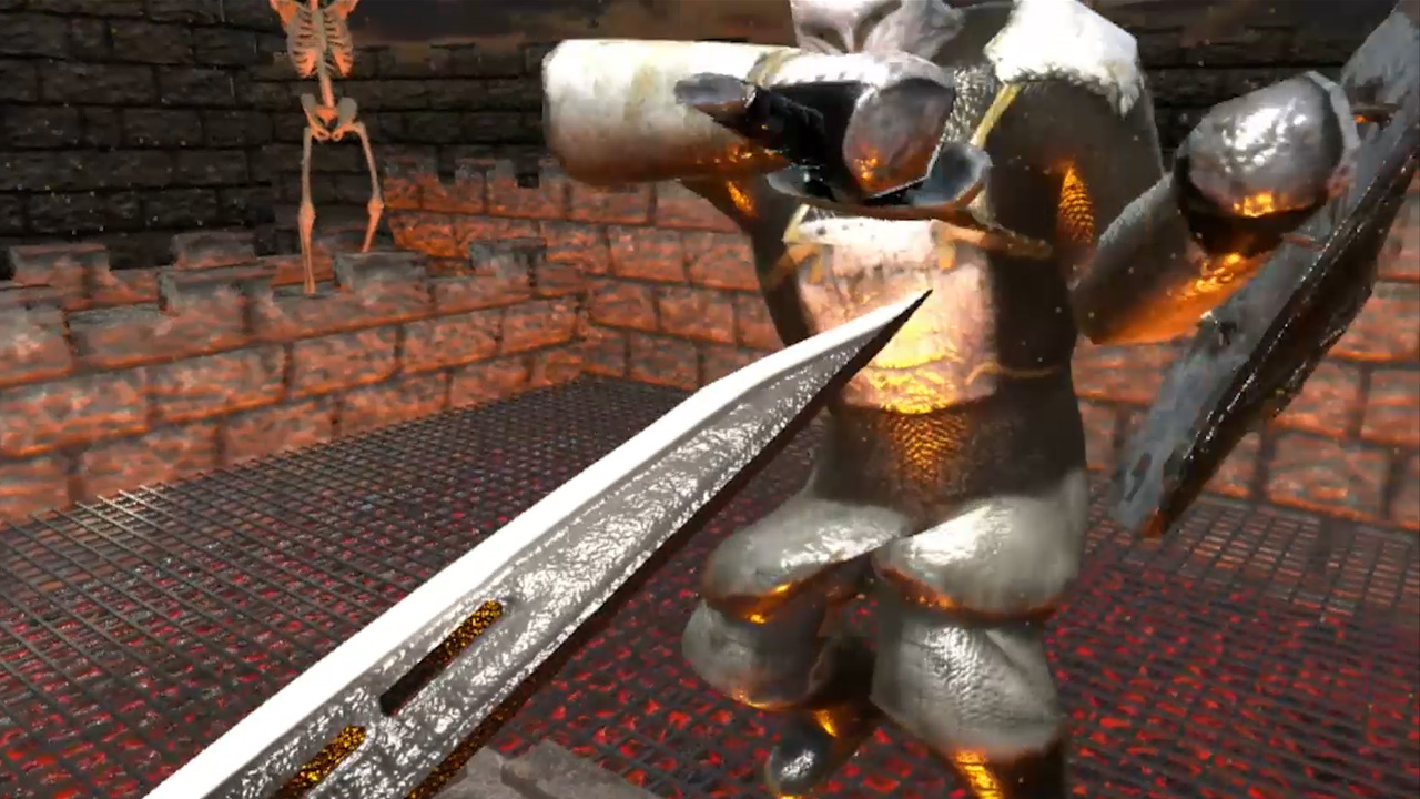 Master of the sword: virtual reality in action