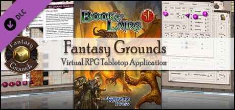 Fantasy Grounds - 5E: Book of Lairs on Steam