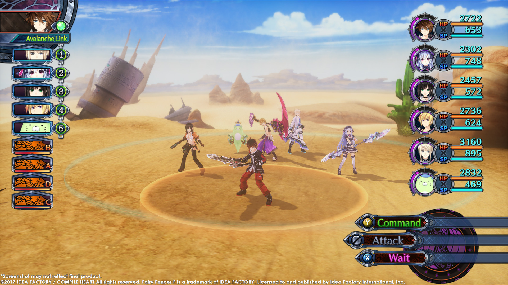 Fairy Fencer F: Advent Dark Force Screenshot 2
