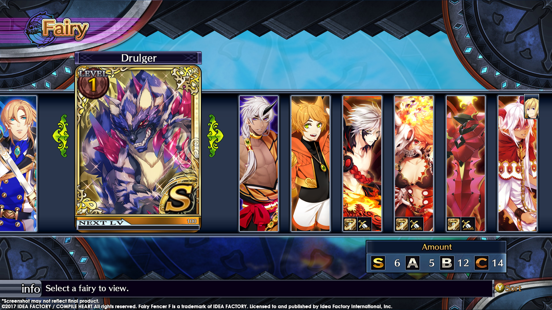 Fairy Fencer F Adf Fairy Set 2 Aques And Drulger On Steam