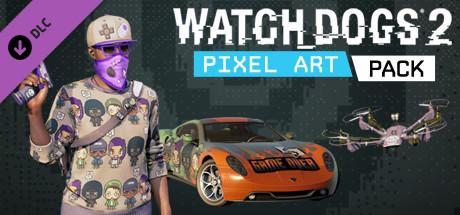 Watch_Dogs 2 - Pixel Art