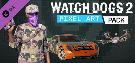 Watch_Dogs 2 - Pixel Art