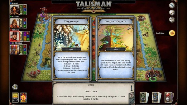 скриншот Talisman - The Firelands Expansion 4