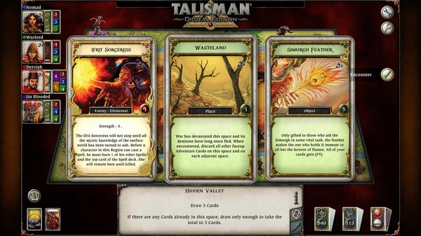 скриншот Talisman - The Firelands Expansion 5