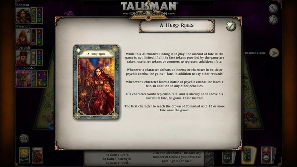 скриншот Talisman - The Firelands Expansion 1