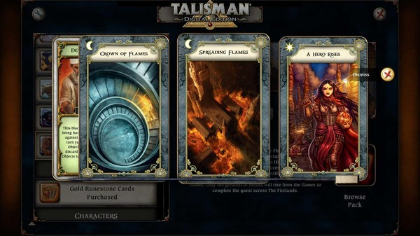 скриншот Talisman - The Firelands Expansion 3