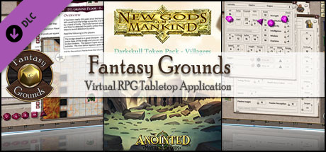 Fantasy Grounds - New Gods of Mankind - Anointed: Token Pack - Villagers of Naalrinnon