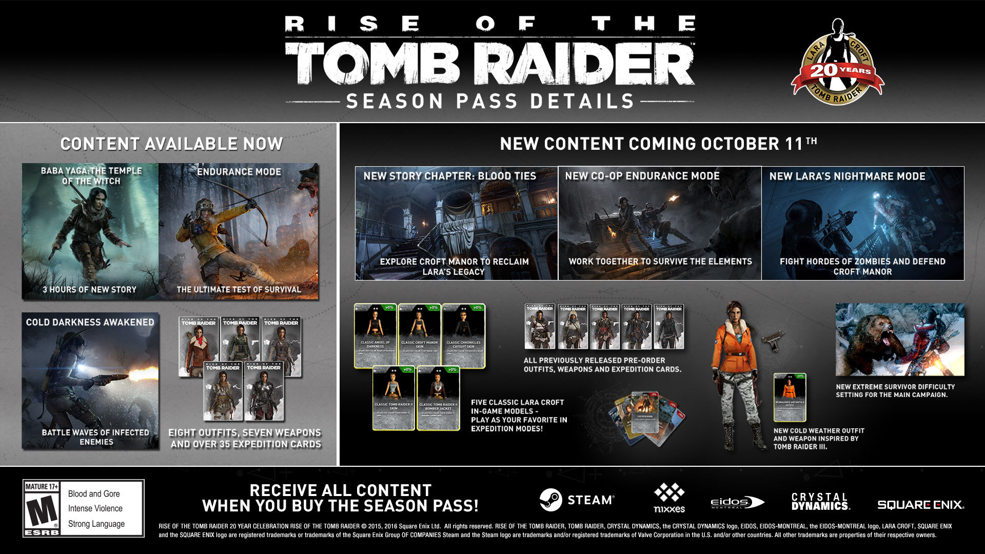Rise Of The Tomb Raider Season Pass On Steam