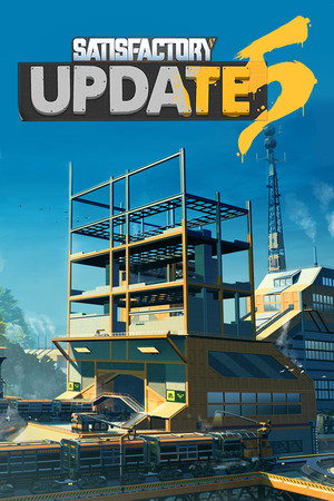 Satisfactory poster image on Steam Backlog