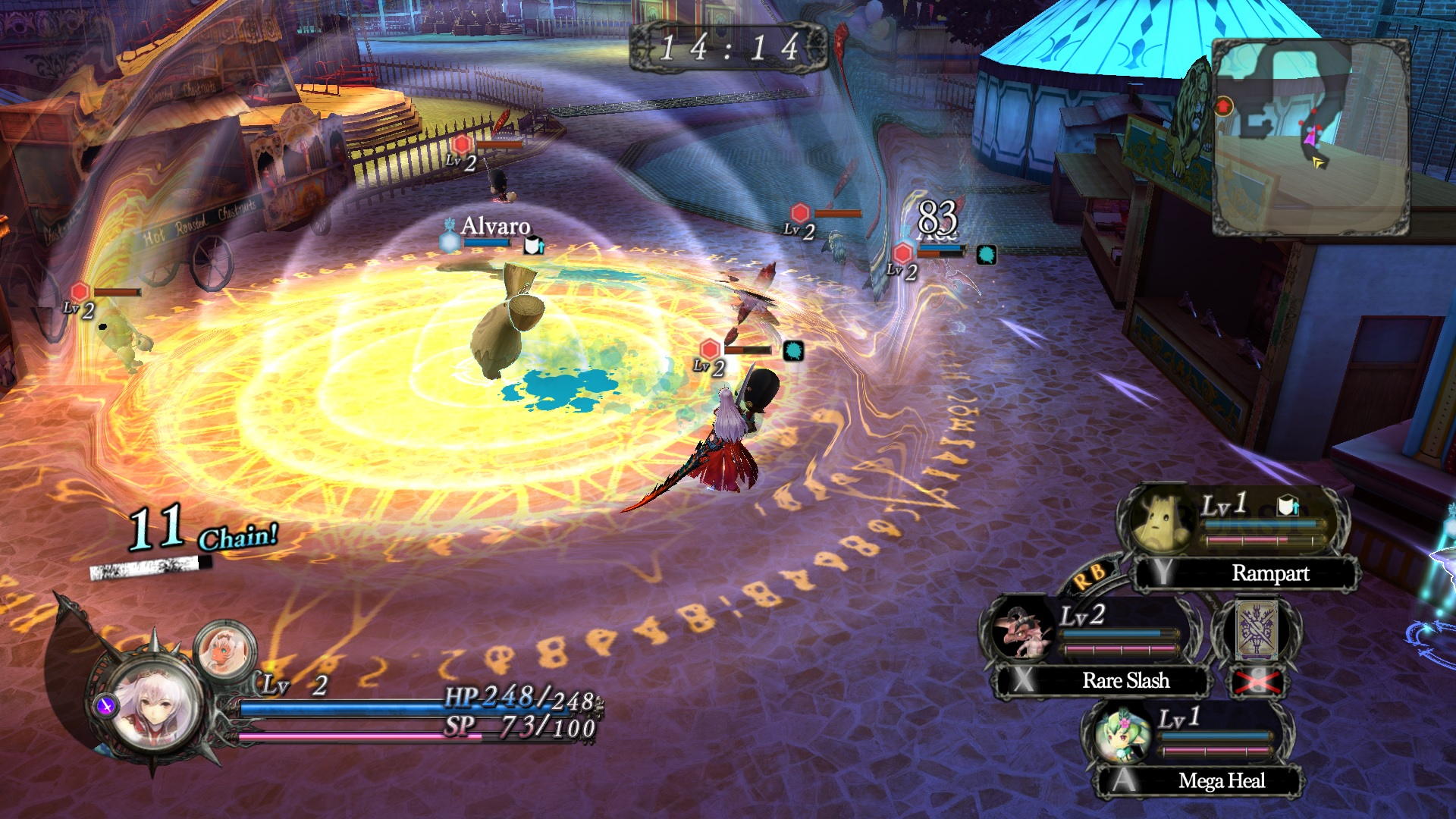 Nights of Azure Screenshot 3