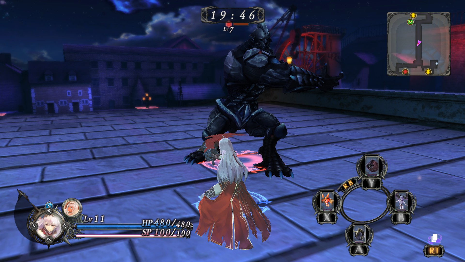 Nights of Azure Screenshot 2