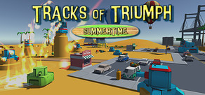 Tracks of Triumph: Summertime cover art