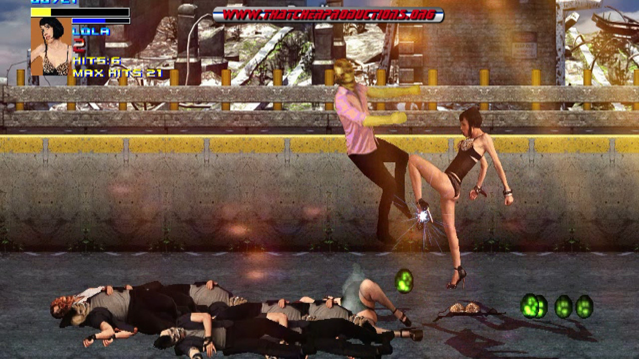 Bad Ass Babes Game Uncensored