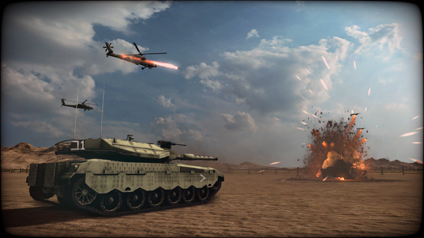 скриншот Wargame: Red Dragon - Nation Pack: Israel 0