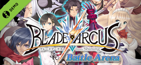 BLADE ARCUS from Shining: Battle Arena Demo
