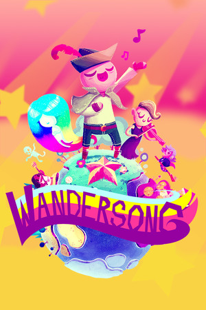 Wandersong poster image on Steam Backlog