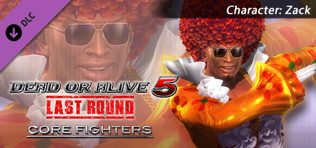 DEAD OR ALIVE 5 Last Round: Core Fighters Character: Zack