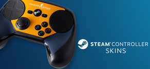 Steam Controller Skin - CSGO Blue/Orange