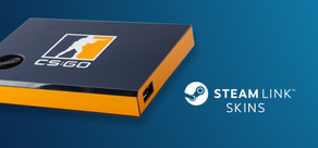 Steam Link Skin - CSGO Blue/Orange