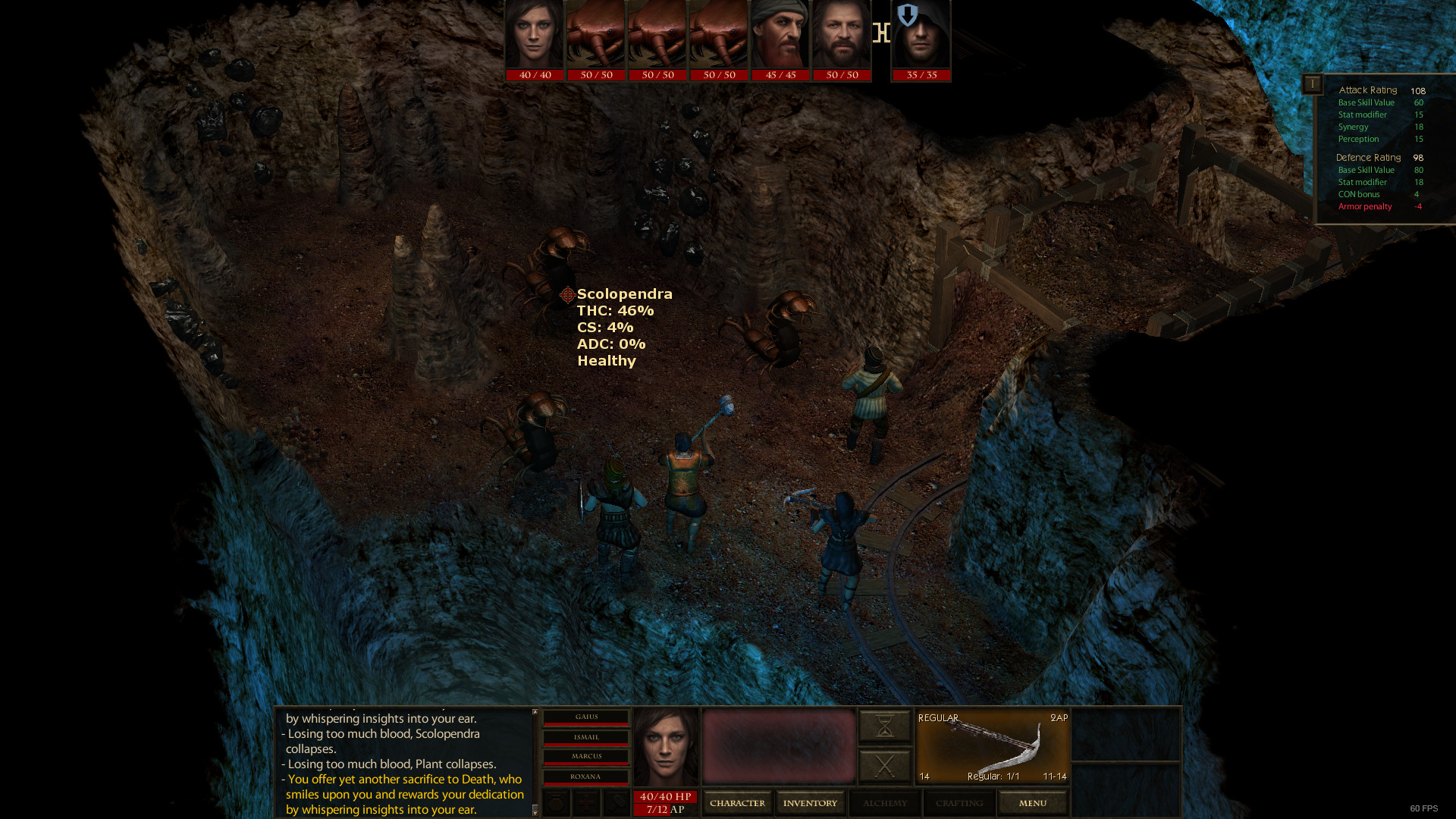 Dungeon Rats Screenshot 1
