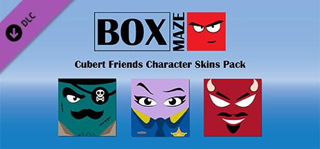 Box Maze - Cubert Friends Skins Pack