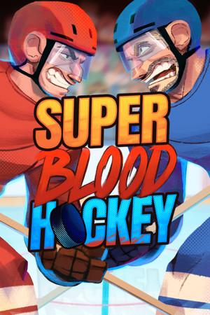 Super Blood Hockey poster image on Steam Backlog
