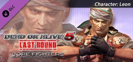 DEAD OR ALIVE 5 Last Round: Core Fighters Character: Leon
