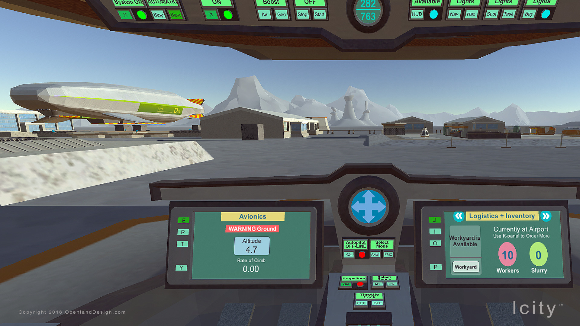 Icity - a Flight Sim     and a City Builder on Steam