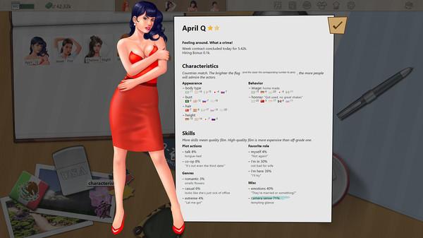 скриншот Porno Studio Tycoon 1