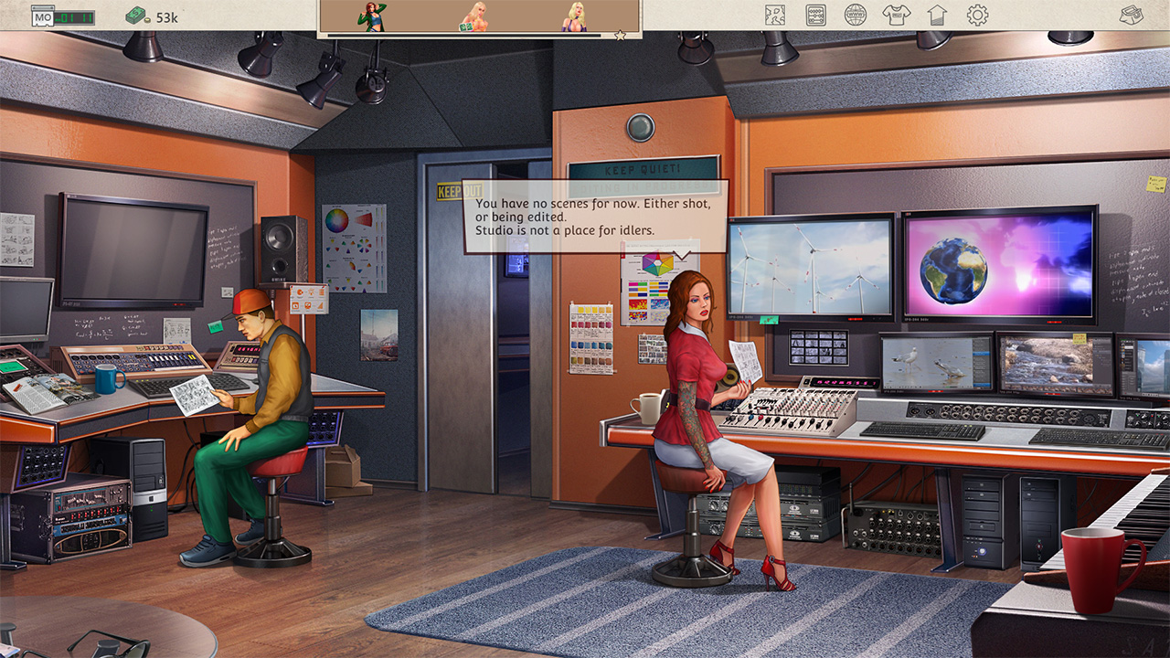 Porno Studio Tycoon Screenshot 1