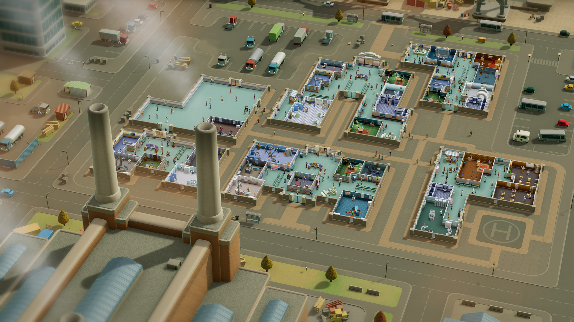 Two Point Hospital Screenshot 1